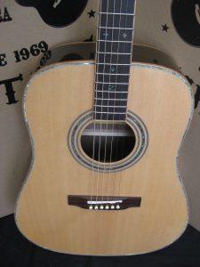 #1922 - 900E Custom Full Box Acoustic Electric Discount Guitar