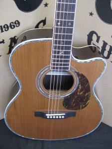 #1943 - ZAD80OM Cutaway Acoustic Discount Guitar