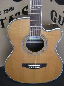 #1945 - ZAD80OM Cutaway Acoustic Discount Guitar