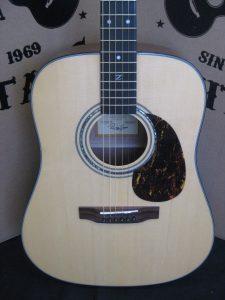 #1946 - ZAD20-E Natural Acoustic Electric Discount Guitar