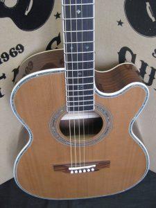 #00061 - 80CEOM-Aura Acoustic Electric Discount Guitar