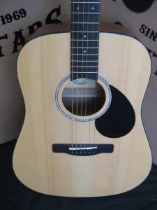 #1960 -  ZAD01N Acoustic Discount Guitar