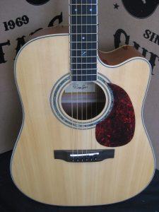 #1939 - 50CEN Acoustic Electric Discount Guitar