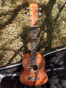 #1925- Travel E Acoustic Electric Discount Guitar