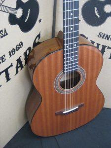 #2021 - Parlor Mahogany Acoustic Discount Guitar