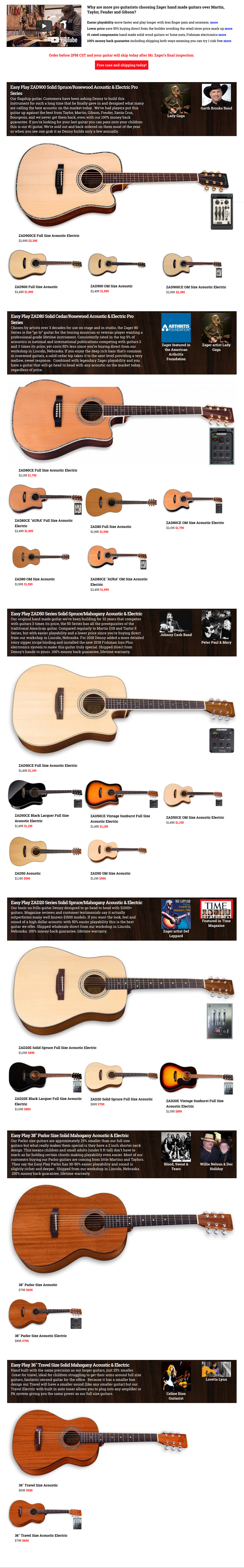 Guitar Giveaway | Zager Guitars