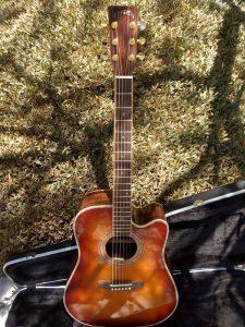 #00049 ZAD900CE Vintage Sunburst Rosewood/Spruce Acoustic Electric AURA Pro Series
