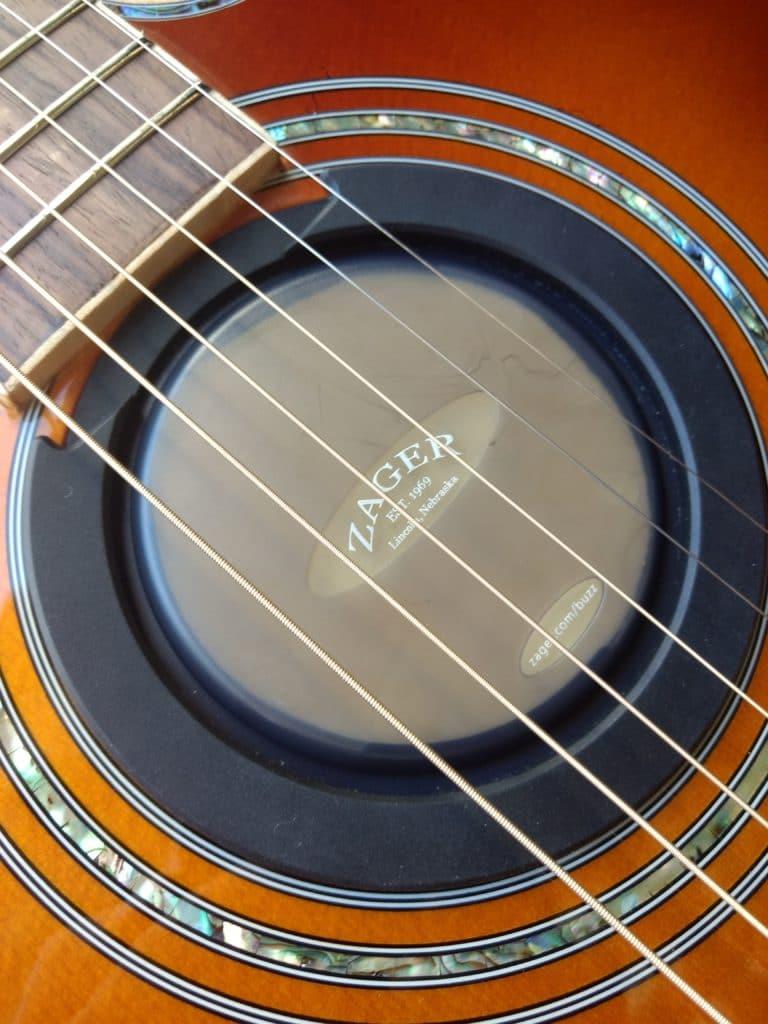 Zager Airtight Neoprene guitar humidification system